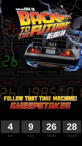 Eaglemoss – Follow That Time Machine – Win of a return trip to Los Angeles California for two people between January 15th 2019 and February 15th 2019.