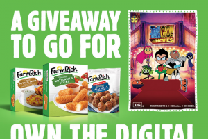 Farm Rich – Family Dinner & A Movie Giveaway – Win a digital movie download from all valid entries