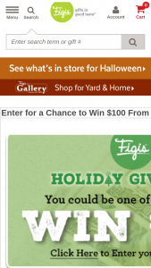 Figi's – Fall 2018 $100 Giveaway – Win one (1) $100 USD check
