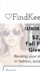 Findkeeplove – $2200 Fall Fashion Giveaway – Win Package Cash/Retail Value $300.