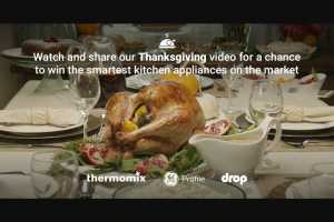 Haier GE Appliances – No Fail Thanksgiving Sweepstakes