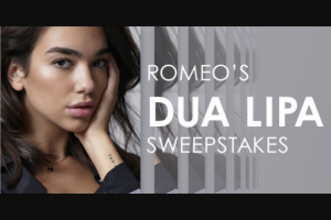 Iheart – Romeo's Dua Lipa – Win three day/two night trip for Winner and one guest to see Dua Lipa perform on November 30 2018 at The Forum in Los Angeles California