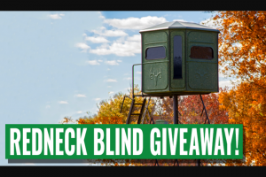Liberty Tree Guns – Buck Palace 6×6 Hunting Blind Sweepstakes