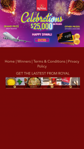 Lt Foods Americas – Royal Celebrations – Win A Dream Vacation worth $5000.