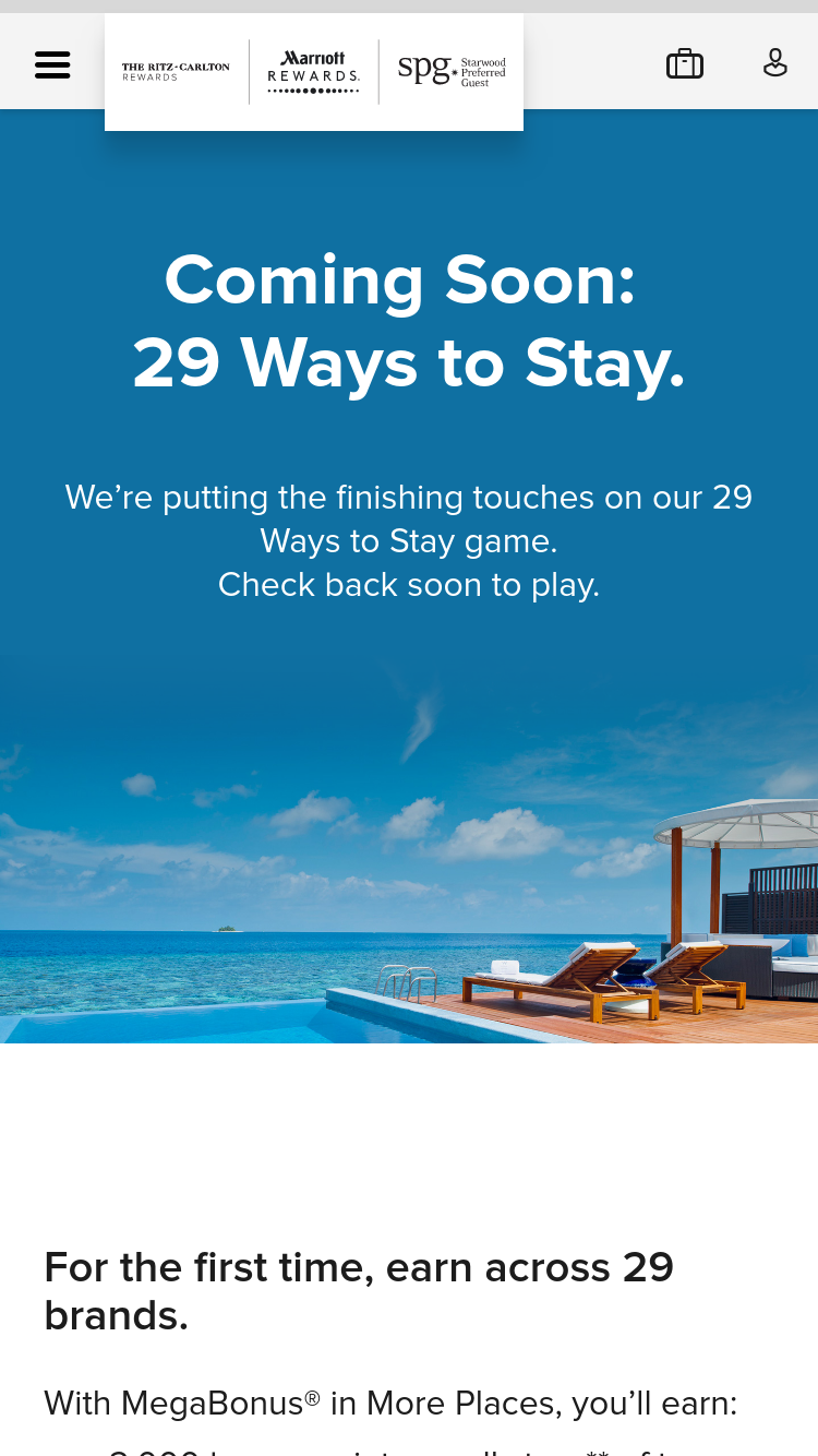 29WAYS MARRIOTT COM