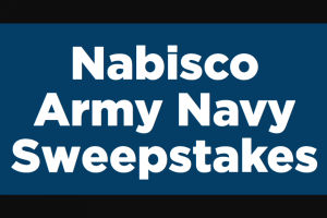 Mondelez Global – Military Army Navy Sweepstakes