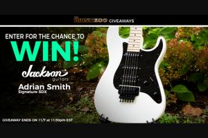 Music Zoo – Jackson Guitars Adrian Smith Sdx Giveaway – Win Jackson Guitars Adrian Smith SDX