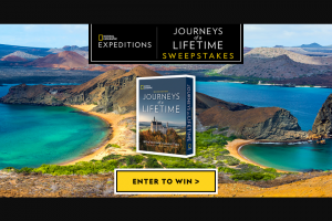 "National Geographic – ""journeys Of A Lifetime"" – Win one copy of the Journeys of a Lifetime 2nd Edition book"