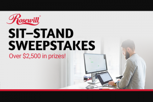 NEWEGG Business – Sit-Stand Sweepstakes