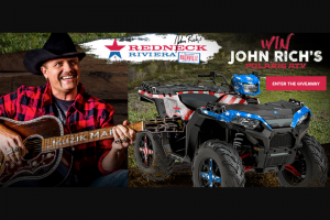 One Country – Redneck Riviera Polaris Giveaway – Win is a 2018 Polaris Sportsman 1000 XP