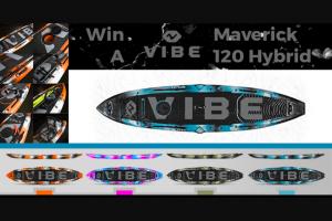 Paddlingcom – Vibe – Win the Vibe Maverick 120 SUP Hybrid