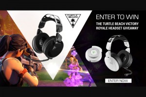 PC Gamer – Turtle Beach Victory Royale Headset Giveaway – Win their choice of a Turtle Beach Elite Pro 2  Superamp headset or Elite Atlas Headset .