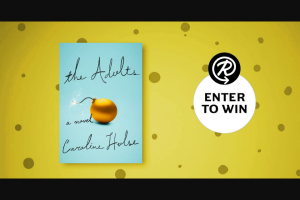 Penguin Random House – The Adults – Win one advance readers copy of  The Adults by Caroline Hulse