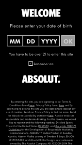 Pernod Ricard – Absolut Vip Music – Win A 3-day/2-night trip for two to Los Angeles CA to attend the GRAMMYs on dates surrounding February 10 2019.