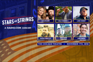 Radiocom – Stars And Strings Flyaway Sweepstakes