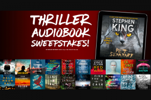 Simon & Schuster – Thriller 2018 Audiobook Sweepstakes