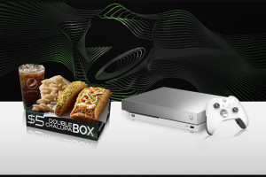 Taco Bell – Xbox Game – Win an Xbox One X Platinum Limited Edition