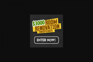 Triton Digital – $3000 Room Renovation – Win a cash award in the amount of US$3000.