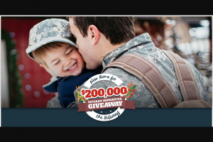 Veterans United Home Loans And Realtorcom – New Home For The Holidays $200k Veteran Homebuyer Giveaway Sweepstakes
