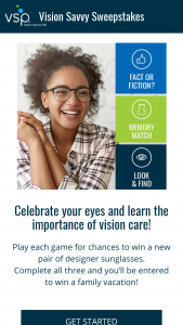 Vsp – Vision Savvy – Win Travel Voucher and a $500.00 VISA Gift Card