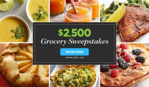Meredith – Eating Well – Win a $2,500 check