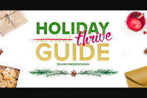 Aarp – Holiday Thrive Guide – Win check