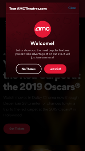 Amc – 2019 Dolby Cinema At Amc Red Carpet Sweepstakes