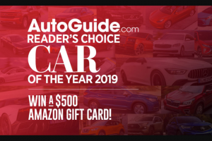 Autoguidecom – Reader's Choice Car Of The Year Giveaway Sweepstakes