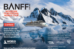 Banff Centre – Mountain Film Festival World Tour Contest Sweepstakes