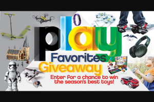 Boys' Life – Play Favorites Giveaway Sweepstakes