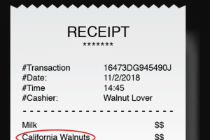 California Walnut Board – Golden Walnut – Win five thousand dollars ($5000.00) awarded in the form of a VISA Gift Card