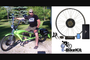 Electric Bike – E-Bikekit – Win Performance E-BikeKit or Heavy Duty E-BikeKit