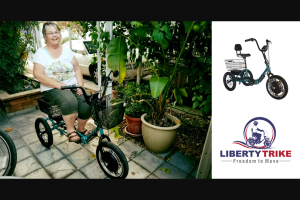 Electric Bike – Liberty Trike Sweepstakes
