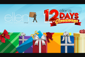 Ellen – $500 Ellen Shop Gift Card Sweepstakes