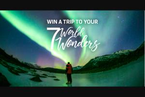 Exodus Travels – My7worldwonders Sweepstakes