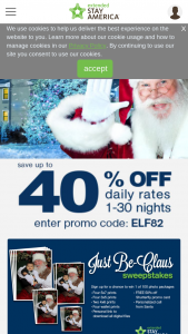 Extended Stay America – Just Be-Claus – Win a Free Holiday Moments Photo Package Gift Certificate