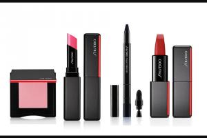 EXTRATV – Makeup Set From Shiseido – Win ModernMatte Lipstick VisionAiry Gel Lipstick InnerGlow Cheek Powder Kajal InkArtist Eyeliner