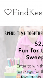 Findkeeplove – Fun For The Family Sweepstakes