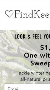 Findkeeplove – One With Nature Sweepstakes
