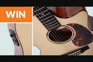 Fishman – Win A Recording King G6 Guitar Sweepstakes