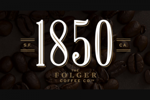 "Folgers – 1850 Bold Pioneer Finalist Voting  – Win of $1850.00 made payable by check to the Grand Prize Winner (""Grand Prize"")."