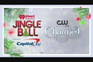 Iheart Media – The CW's Jingle Ball Flyaway – Win two (2) to New York NY from 12/6/18 to 12/8/18 to attend the 2018 iHeartRadio Jingle Ball New York concert