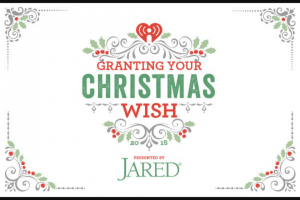 Iheart Radio – Grant Your Christmas Wish – Win essay  Prize value will be no less than $1000 and will not exceed $5000 Total overall prize value shall not exceed $111000.