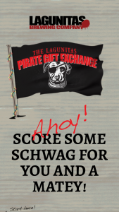"Lagunitas – ""pirate Gift Exchange"" Instant Win Game Sweepstakes"