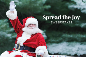 Lands' End – Spread The Joy – Win email confirmation as well as a prize notification via email within five (5) days  Sweepstakes Grand Prize