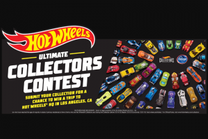 Mattel – Hot Wheels Ultimate Collector Contest – Win prize