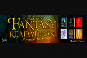 Penguin Random House – Fall Into Fantasy – Win 6 Fall Into Fantasy Buddy Read Books (Prize Approximate Retail Value $107.94)