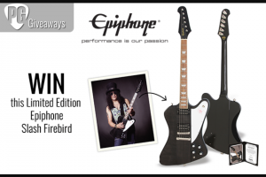 Premier Guitar – Epiphone Limited Edition Slash Firebird Sweepstakes