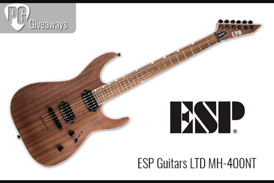Premier Guitar – Esp Guitar Sweepstakes | GiveawayUS com