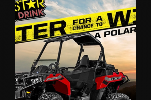 Rockstar & Royal Farms – Polaris – Win One (1) Polaris Ace ARV $6999.00.